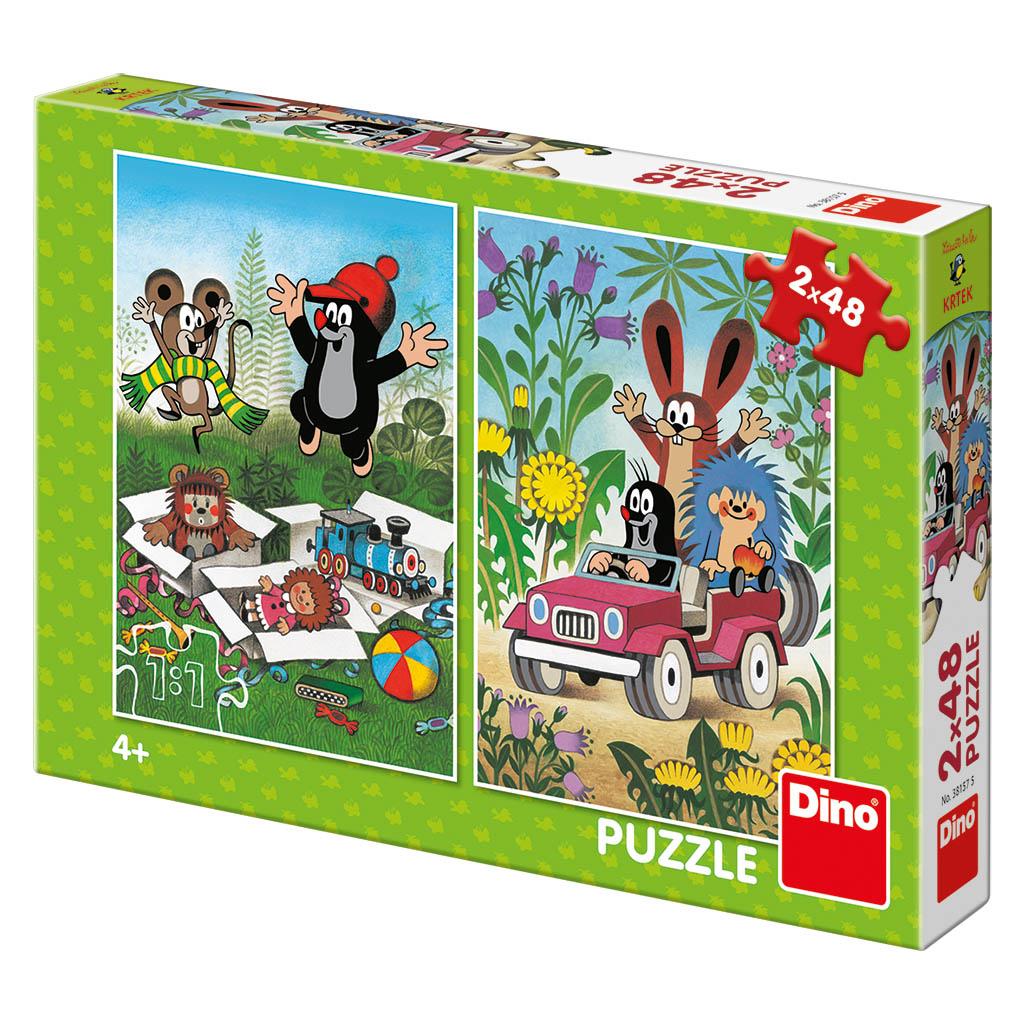 KRTKO sa raduje 2x48 Puzzle NOVÉ