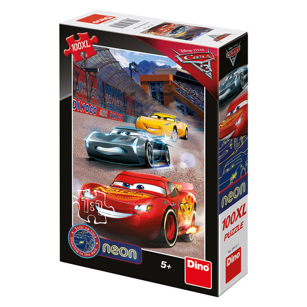 WD Cars3: Víťazné kolo 100XL neon
