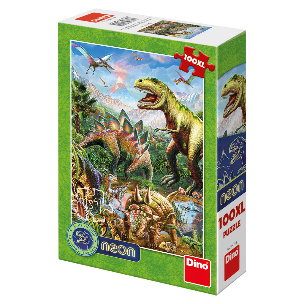Svet dinosaurov 100DXL neon