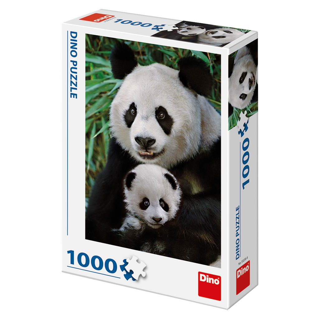 Pandí rodinka 1000D