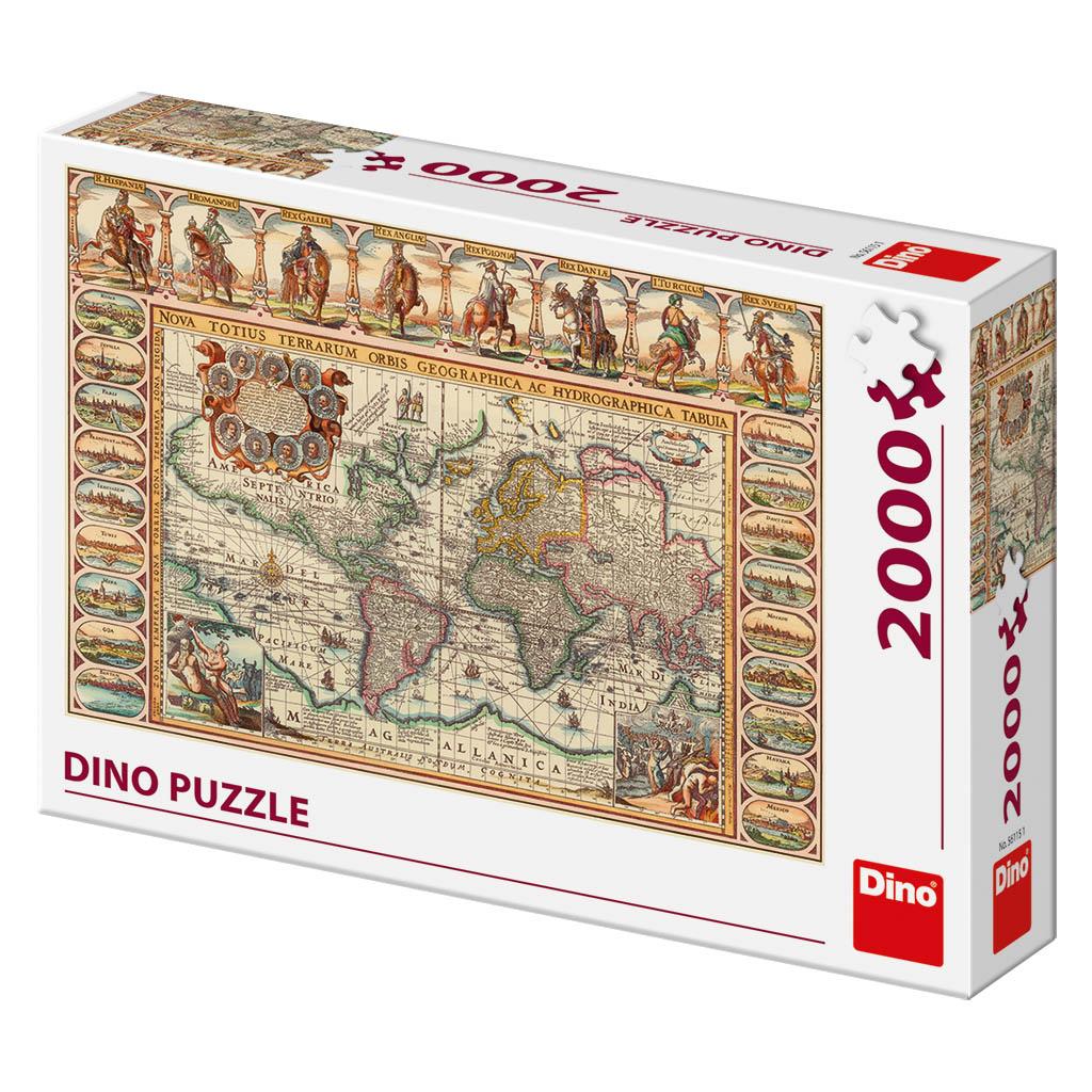 Historická mapa sveta 2000D