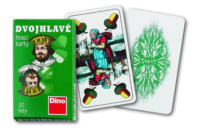 Hracie karty dvojhlavé