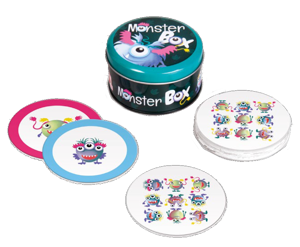 MONSTER BOX Cestovná hra