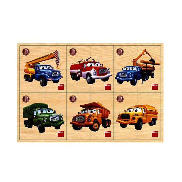 Tatra 6x4D driev. puzzle