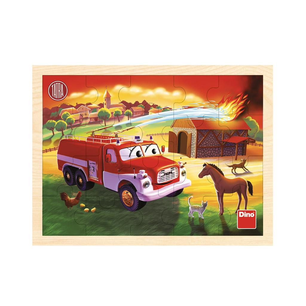 Tatra hasiči 20D driev. puzzle