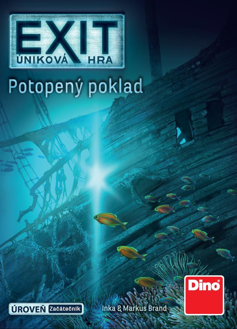 Úniková HRA: potopený POKLAD Párty hra