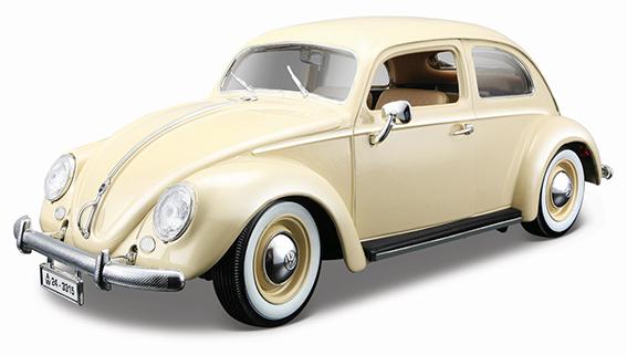 1:18 VW KAFER-BEETLE 1955 BEIGE