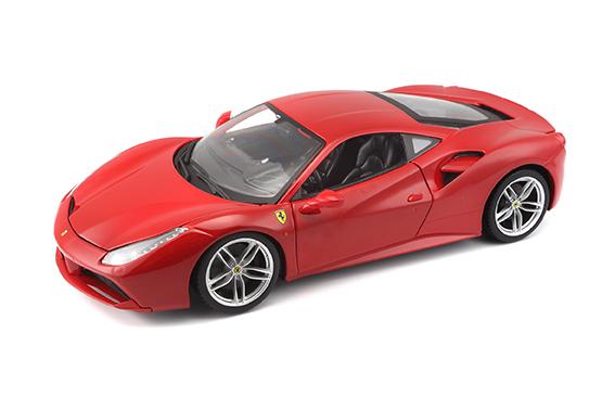 1:18 FERRARI 488 GTB RED
