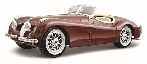 1:24 JAGUAR XK 120 ROADSTER 1951 RED