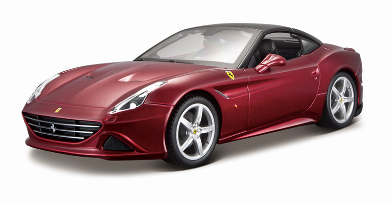 1:24 FERRARI CALIFORNIA T CLOSED RED