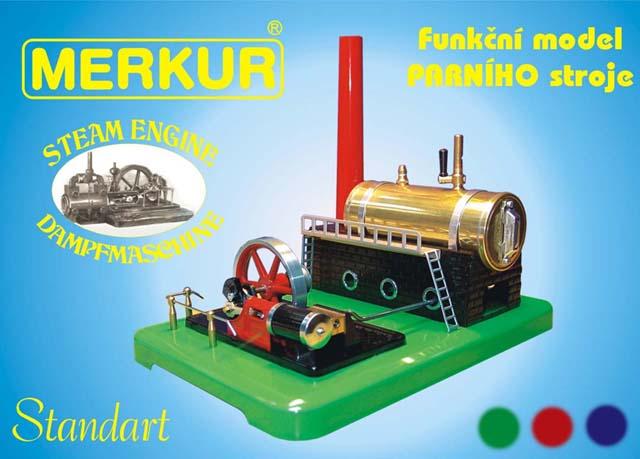Parný stroj - funkčný model