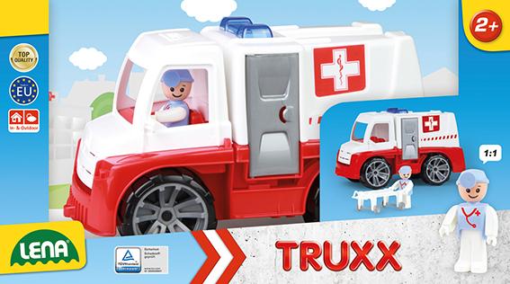 TRUXX sanitka, ozdobný kartón