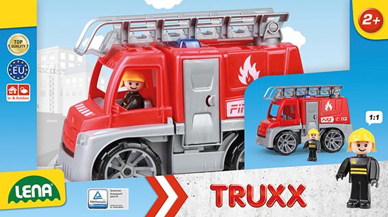 TRUXX hasiči, okrasný kartón