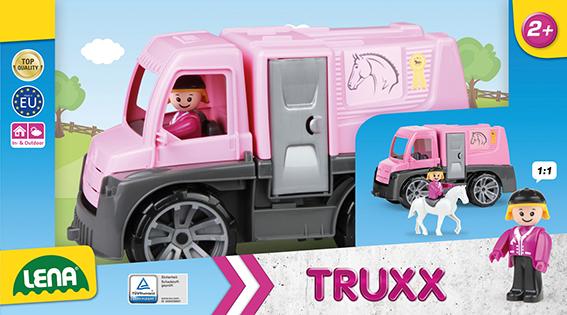 TRUXX konský transport, ozdobný kartón