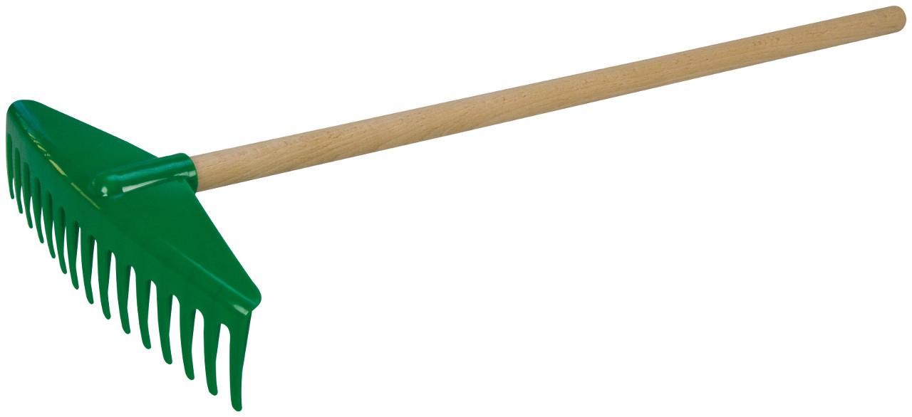 Hrable 60 cm s drevenou rukoväťou