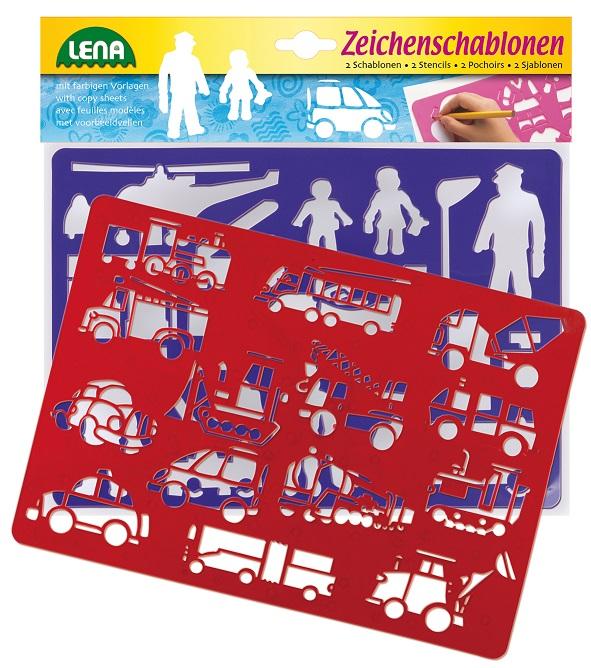 Kresliace šablóny (dopravné prostriedky)