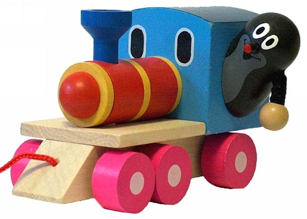 Krtko a lokomotíva