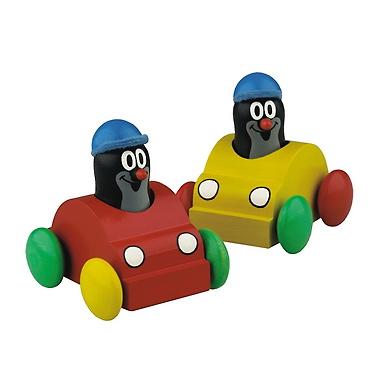 Krtko v autíčku - pískajúci (minimálny odber 4 ks)