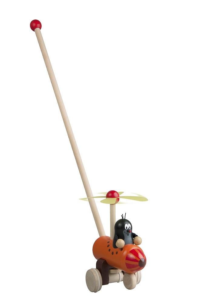 Strkadlo Krtko a vrtuľník
