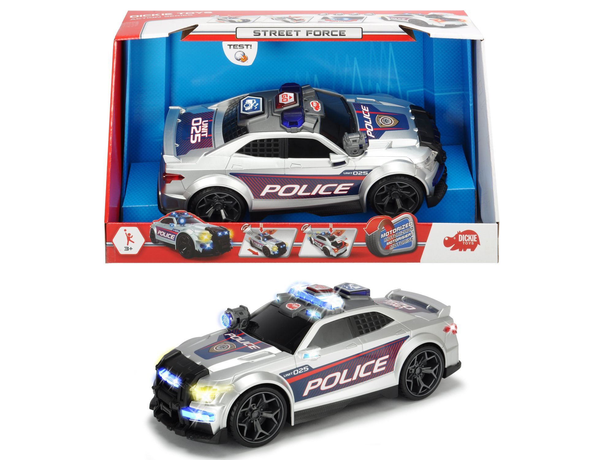 AS Policajné auto Street Force 33 cm