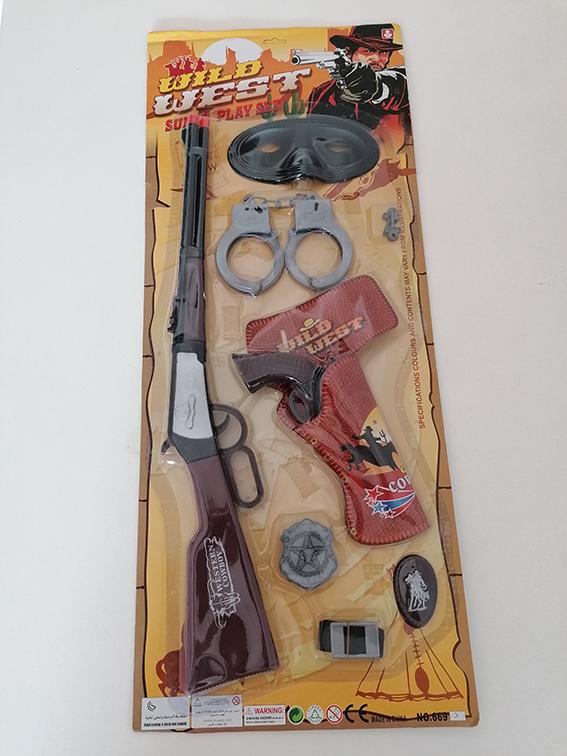Sada pištole, putá, kolt