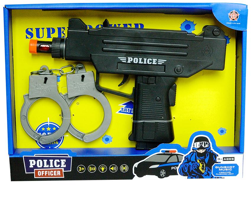 Policajná pištoľ s putami