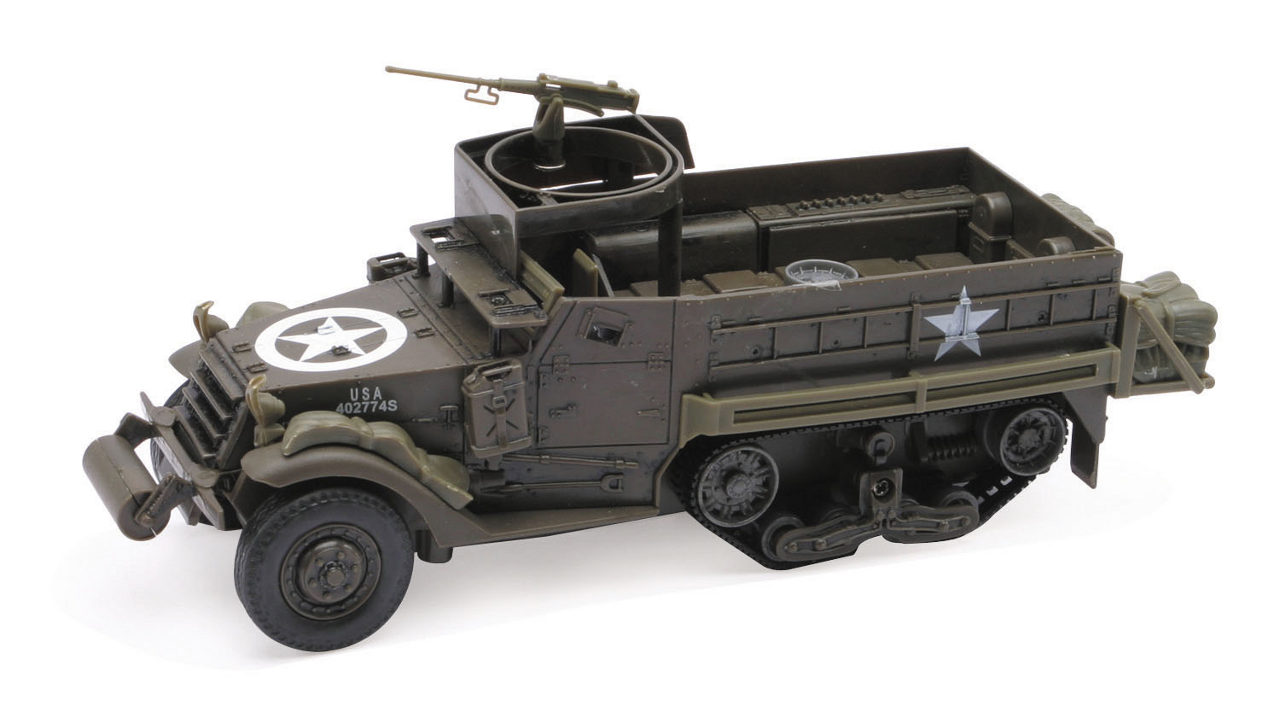 Tank M3A2 model kit